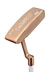 Golf-Putter goldenen schwarzen Roségold