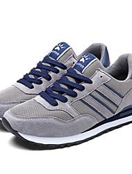 Herren-Sneaker-Lässig-PUKomfort-Grau Blau