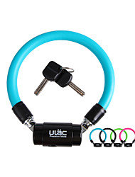ULAC bicycle lock SD600R distinctions of bike lock wire / cable lock horseshoe ring lock coaster riding accessories