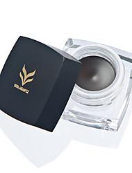 Eyeliner Baume Humide Gloss coloré Couverture Longue Durée Naturel Etanche Yeux 12