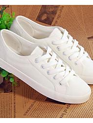 Women's Flats Spring Comfort PU Casual White