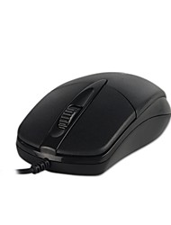 S100 Office Mouse Three Buttons Matte Surface Mouse Support Windows XP / Vista Windows7 / 8 / MAC iOS Operating System