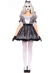 Costumes de Cosplay Sorcier/Sorcière Fête / Célébration Déguisement d'Halloween Autres Robe Halloween Féminin Elasthanne Térylène