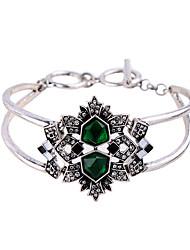 Mulheres Bracelete Amizade Moda Liga Forma Geométrica Jóias Para 1peça