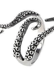 Жен. Массивные кольца Кольцо Мода По заказу покупателя Euramerican Pоскошные ювелирные изделия бижутерия Титановая сталь Бижутерия