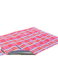 Inflated Mat Portable Camping Traveling Flannel