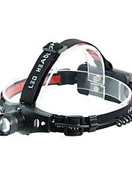 Torce frontali LED Messa a fuoco regolabile Compatta Ultraleggero Ciclismo Pesca All'aperto