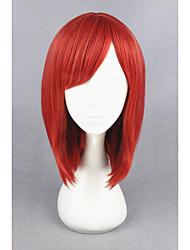 Corto amor vivo! -nishikino maki rojo sintético 16inch anime cosplay peluca cs-181c