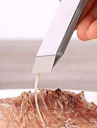 1 Pças. língua For para Meat para peixe Aço Inoxidável Alta qualidade Gadget de Cozinha Criativa