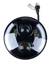 Phare avant ronde kawell de 7 po pour harley davidsion moto daymaker avec ange eye drl led projecteur projecteur pour jeep applications