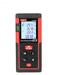 UNIT UT392A Handheld Digital 80m 635nm Laser Distance Measurer with Distance & Angle Measurement(1.5V AAA Batteries)