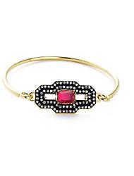 Mulheres Bracelete Moda Liga Forma Geométrica Jóias Para Ocasião Especial Presentes de Natal 1peça