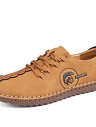 Herren-Sneakers Frühjahr Herbst Komfort PU Outdoor Casual gelb grau