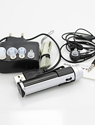 ANOX A-60 New Rechargeable BTE Hearing Aids N-H Adjustment Audiphone Sound Amplifier EU/USA Adapter
