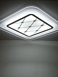 Flush Mount ,  Modern/Contemporary Painting Feature for LED Metal Living Room Bedroom Dining Room Kitchen Study Room/Office