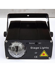 LED Stage Light Magic LED Light Ball Party Disco Club DJ Show Lumiere LED Crystal Light Laser Projector 150W - - -Auto Strobe