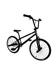 BMX Bike Cycling Others 20 Inch Ordinary Non-Damping Steel Frame Non-Damping Step-Through Monocoque Anti-slip PVC Steel