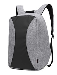 17.3 inch High Capacity Business Waterproof Nylon Cloth with USB Charging Port notebook Bag  Backpack for   Dell/HP/Lenovo/Sony/Acer/Surface etc