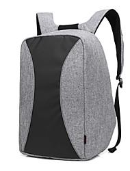 Tissu de nylon étanche imperméable à l'eau de haute qualité de 17,3 pouces avec sac à dos pour sac à cahier portables pour dell / hp /