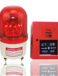 Traffic Sound And Light Alarm Machine Warning Lights / Alarm / With Sound / Rotary / Warning Light DC12V Lights  Button
