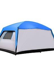 CAMEL > 8 pessoas Duplo Barracas para Acampamento Família Dois Quartos Três Quartos com Vestíbulo Barraca de acampamento 2000-3000 mm