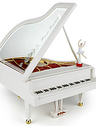 Music Box Piano Novelty & Gag Toys ABS Unisex