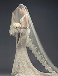 The New Bride Wedding Veil Tail Lace Veil Long Paragraph