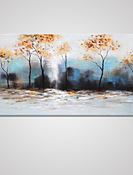 Stretched Canvas Print Landscape European Style,One Panel Canvas Horizontal Print Wall Decor For Home Decoration