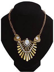 Жен. Ожерелья-цепочки В форме листа Сплав Euramerican Мода Бижутерия ДляСвадьба Для вечеринок Особые случаи День рождения Обручение