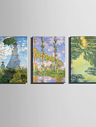 The Logicians Oil Painting Engraved Canvas Print Wall Art Claude Monet 2 Multi Style Selection