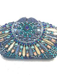 Sacs à main d'embrayage en soirée à la main faits à la main avec des cristaux de haute qualité
