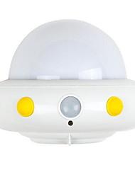 Ufo corpo sensor luz usb cobrança criativo quarto luzes inteligentes
