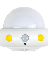 UFO Body Sensor Light USB Charging Creative Bedroom Intelligent Lights