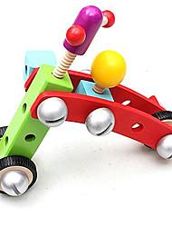 Blocos de Construir para presente Blocos de Construir Modelo e Blocos de Construção Carro Madeira 5 a 7 Anos Brinquedos