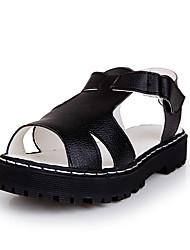 Damen-Sandalen-Lässig-Mikrofaser-Flacher Absatz-Komfort-