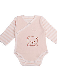 Baby Solid One-Pieces,Cotton Summer Spring Long Sleeve