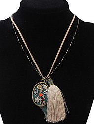 Leaves Layered Necklaces Long Choker Pendant Sweater Chain Necklace Women Jewelry Christmas Gift