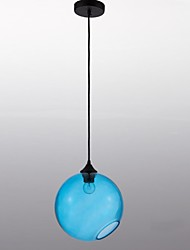 Pendant Light ,  Lantern Painting Feature for Designers Glass Living Room Bedroom Dining Room Study Room/Office Entry