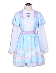 Outfits Sweet Lolita Lolita Cosplay Lolita Dress Fashion Short Sleeve Short / Mini Top Skirt For