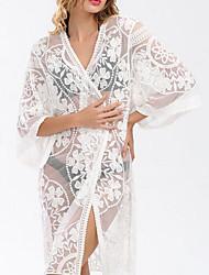 Femme A Bretelles BikinisMousseline de soie Voiles & Transparence