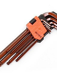 Huafeng Giant Arrow 9 Piece Set Six Angle Wrench Set