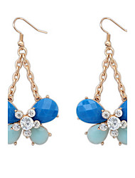 The European and American fashion butterfly earrings
