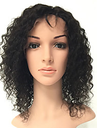 100% Human Hair Lace Wigs Wigs-Material Wigs for Women Style Human Hair Lace Wigs