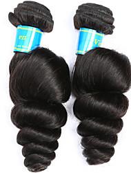 Ciocche a onde capelli veri Vietnamita Onda sciolta 12 mesi 2 tesse capelli