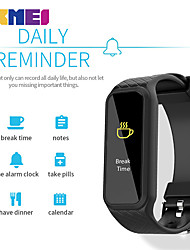 Women's Men's SKMEI Smart Bracelet Heart Rate Pedometer Monitor LED Colorful Screen Sports Calorie Alarm Smart Wristband For Android ios