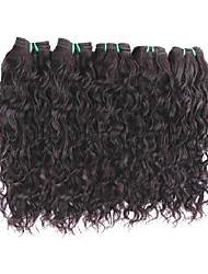 Venda por atacado de cabelo virgem de onda natural 5bundles 500g oferece boas extensões de cabelo humano de qualidade de qualidade 8a O