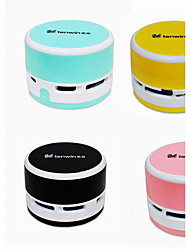 Creative Nylon Brush Plastic MINI Desktop Organizer Boxes Desktop Dusting Electric Vacuum Cleaner