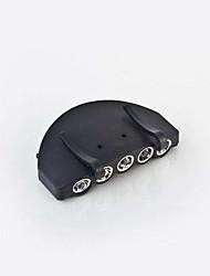 LED Lumens Manuel Mode CR2032 Style mini 5 en 1 Casque Microphone Camping/Randonnée/Spéléologie Cyclisme
