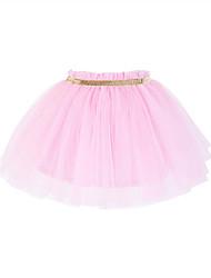 Girls' Solid Skirt Summer