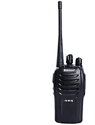 baiston bst-698 5W 400,00 ~ 470.mhz 16-ch conjunto walkie talkie - preto
